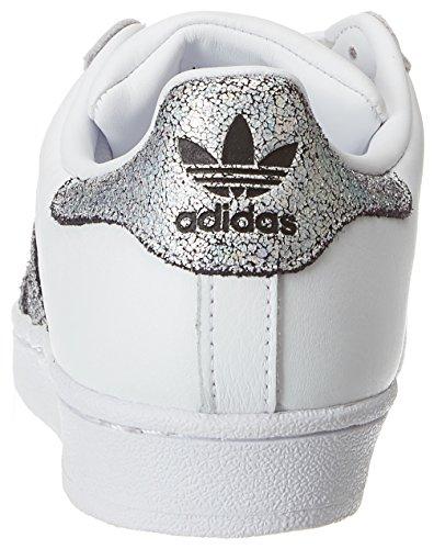Mujer Negbas Deporte Supcol para Adidas 000 Blanco Superstar de W Ftwbla Zapatillas BvCqY