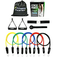 Resistance Bands - Includes Carry Case - Premium Quality...
