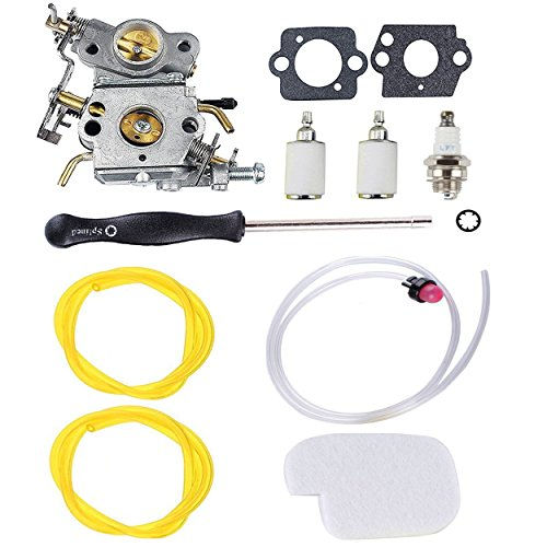 Podoy P3314 Carburetor for Poulan Chainsaw Parts 545070601 Air Fuel Filter with Adjustment Tool Tune-up Kit for P3416 P3816 P4018 PP3416 PP3516 PP3816 PP4018 PP4218 PPB3416 PPB4018 PPB4218