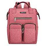 JINS & VICO Large Lightweight Laptop College School Backpack Pink Deal