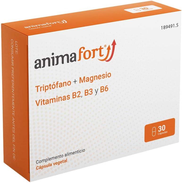 Animafort Cápsulas-Triptofano con Magnesio y Vitaminas B: Amazon ...