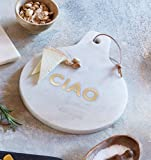 Set of 2 Marble Cheese Board White - CIAO