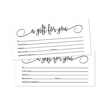 printable blank gift certificate