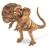 Image of Folkmanis Frilled Lizard Hand Puppet