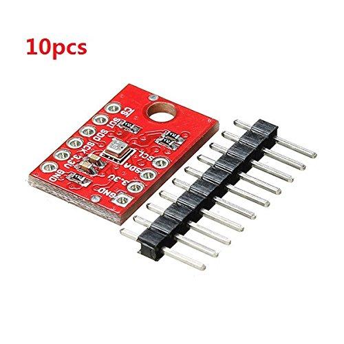 Prament Arduinoのための10個のCJMCU-BME280組み込み高精度気圧高度センサーモジュール COD   B07K5KDLCY
