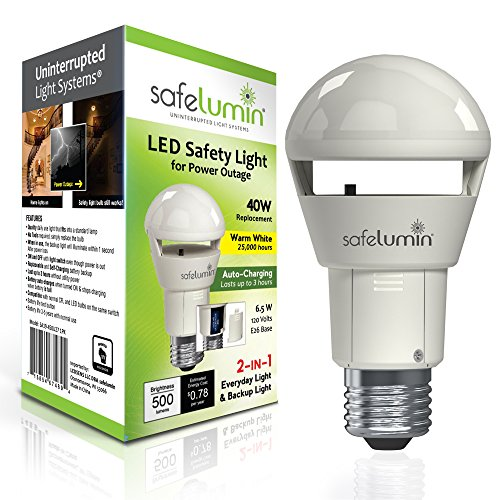 Emergency Light With Led Bulb in US - 8