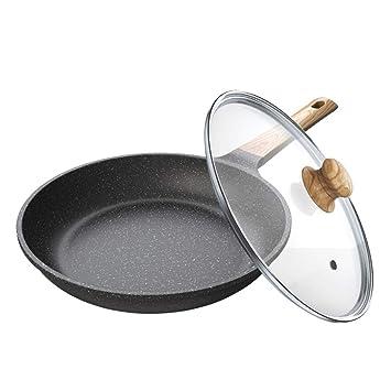 JANSUDY Sartenes Para El Hogar Sartenes Antiadherentes Filetes Fritos Adecuados Para Estufas De Gas/Cocinas De InduccióN: Amazon.es: Hogar
