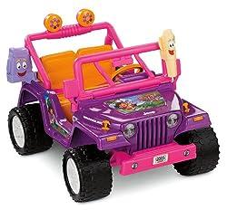 Fisher-Price Power Wheels Dora the Explorer Jeep Wrangler