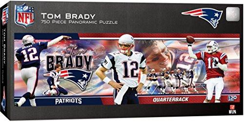 - MasterPieces NFL New England Patriots Tom Brady Puzzle (750 Piece)