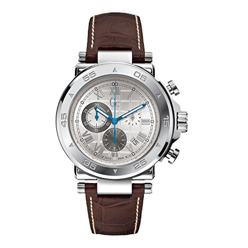 GUESS Gc-1 Sport Timepiece - Silver/Brown
