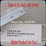 Printer Parts for K0nica C452 C552 C652 Drum Cleaning Blade,Wiper Blade for K0nica Minolta Yoton C452 C552 C652 Copier,for K0nica Blade,2Sets