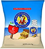Pirate's Booty Non-GMO Snack Puffs, Aged White Cheddar, 6 Count (Pack of 12)