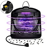 Electric Insect Killer, Fly Bug Insect Zapper Killer Control with Trap Lamp 110V for Indoor Outdoor