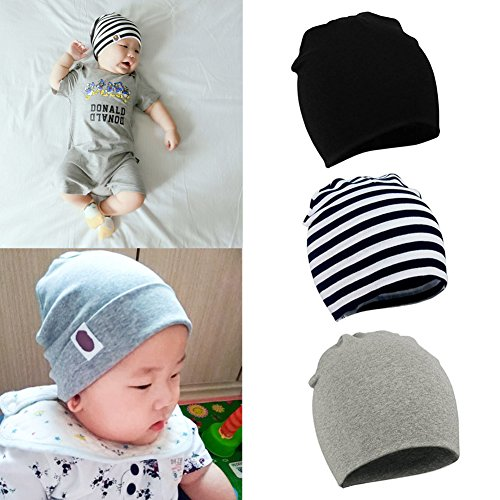 7c8b0313db281c ... coupon code for unisex baby beanie children kids toddler cotton soft  cute lovely knit beanie hat