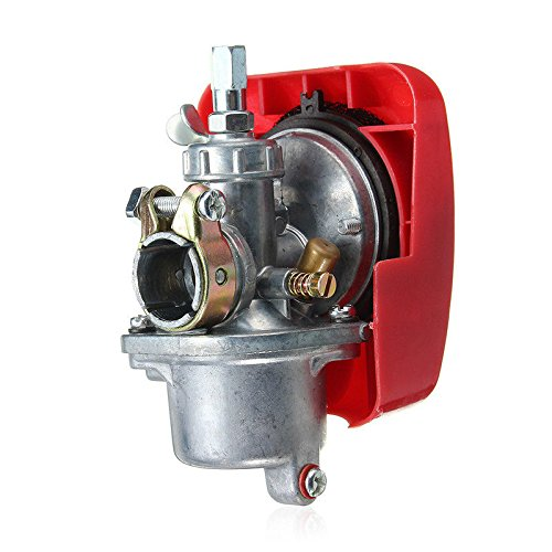 New Bike Engine Red Carburetor for 2 Stroke 80cc Bicycle Motorized Engine Kit