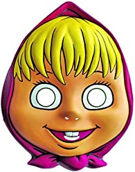Childrens Mask Masha and the Bear As a required attribute for Childrens Party or Carnival