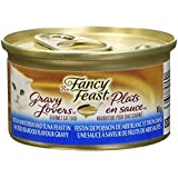 Purina Fancy Feast Gravy Lovers Ocean Whitefish and Tuna Feast in Sauteed Seafood Flavour Gravy Cat Food 85g Can