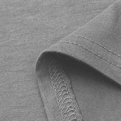 Et Lin Rétro Courtes Coton T Innerternet 2xl En shirts Couleur Rond Blouse Respirant Manches S Imprimé Gris Soyeux Soid Décontractée Étoiles Tops Col À aSOxq0wS