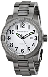 ANDROID Men's AD713BKS Frontline Analog Japanese-Automatic Grey Watch