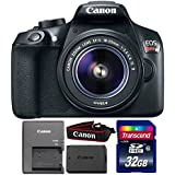 Canon EOS Rebel T6 18MP DSLR Camera with 18-55mm Lens and 32GB Memory Card