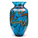 Handmade Glass Branches Vase - Blue - 16'' Tall - FREE Shipping to the lower 48 on orders over $35!