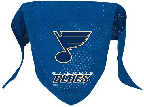 St. Louis Blues Pet Dog Hockey Jersey Bandana M/L