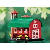 Kay Home Products Redbarn Combo Bird Feeder