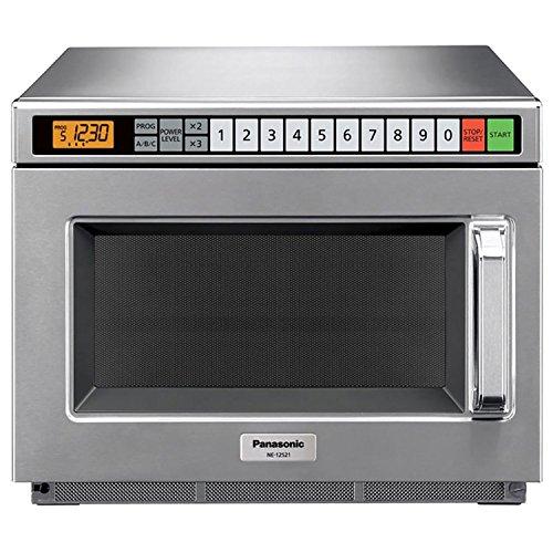 Panasonic 1200W Digital Commercial Microwave Oven, 120V, 0.6