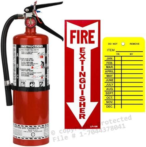 Amazon.com: 5 lb. Strike First ABC, 2-A :10-B:C - Extintor ...