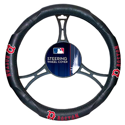 The Northwest Company Boston Red Sox MLB Steering Wheel Cover (14.5