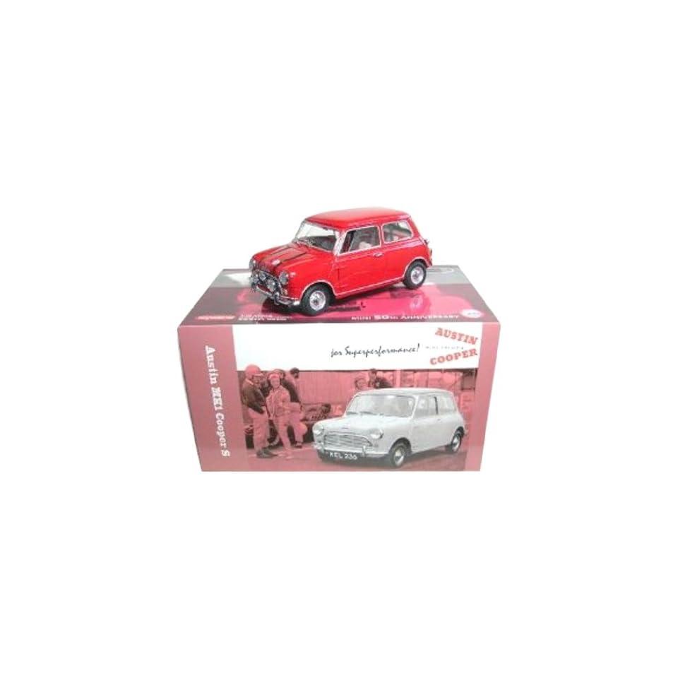 Austin MK1 Mini Cooper S Red 50th Anniversary 1/18 Kyosho