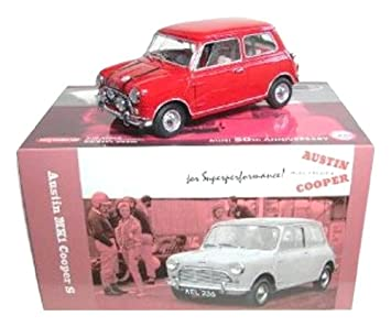 Austin Mini Cooper S The Italian Job 1969 Diecast Model Car From