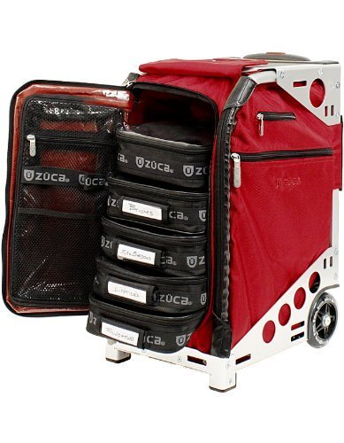 ZUCA PACRUBSLV Pro Artist Case Ruby On Silver Frame / 89055900371 by ZUCA