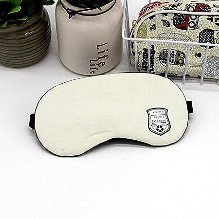 BB&ONE - Gafas de viaje para dormir transpirables para hombres y mujeres, bolsa de hielo para dormir caliente y frío, algodón creativo, para bicicleta