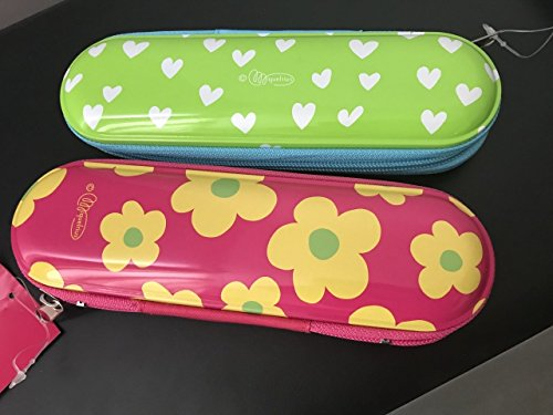 Flower Prada - Agatha Ruiz de la Prada Metal Pencil Case - Hearts & Flowers 2pack