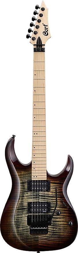 Guitarra electrica cuerpo macizo Cort X300 GRB: Amazon.es: Instrumentos musicales