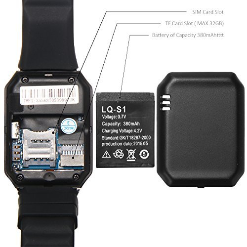 Apple-iPhone-4-Compatible-and-Certified-Smart-Watch-with-SIM-16GB-memory-card-support-for-Android-or-use-as-Mobile-with-Wireless-Bluetooth-Connectivity-Get-Mobile-Charging-Cable-worth-Rs-239-FREE-180-