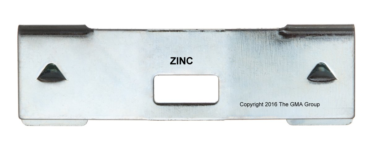 10 Pack Vertical Blind Vane Saver ~ Zinc Curved Repair Clips ~ Fixes Broken gmagroup 10 Curved Zinc Vane Savers