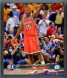 Carmelo Anthony Syracuse Orange Action Photo (Size: 12'' x 15'') Framed