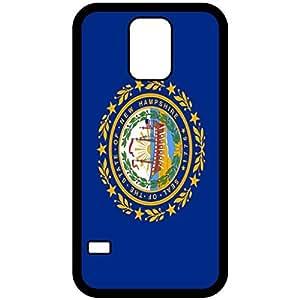New Hampshire NH State Flag Black Samsung Galaxy S5 Cell Phone Case - Cover wangjiang maoyi