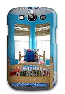 Premium [eFfNlKk17897USxXp]tropical Surfing-inspired Turquoise Bedroom Case For Galaxy S3- Eco-friendly Packaging