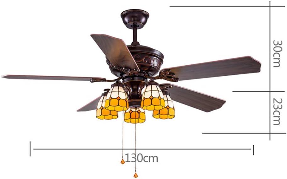 Ventilateurs de Plafond avec Lampe intégrée Ventilateur de