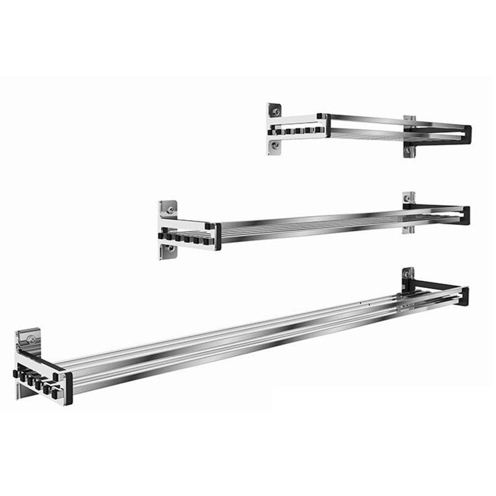 Spice rack Wall mount Kitchen Shelves Kitchen supplies Storage Rack Stainless steel