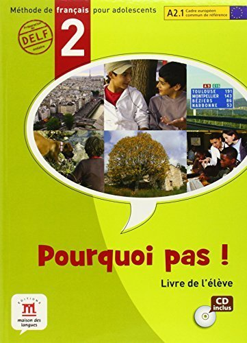 (Pourquoi Pas? 2 Livre de l'eleve Internacional + CD (French Edition) by Michele Bosquet, Matilde Martinez, Yolanda Rennes, Marie Fr (2008) Textbook Binding)