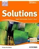 Solutions Upper Intermediate Student's Book Pack 2ª Edición (Solutions Second Edition) - 9788467382037