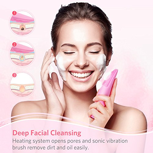 Sonic-Silicone-Facial-Cleansing-Brush-Waterproof-Rechargeable-Skin-Cleanser-Anti-Aging-Face-Massager-Deep-Cleansing-Remove-Blackhead-and-Skin-Care-for-All-Skin-Types-7-Speed-Vibration