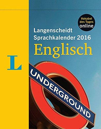 Langenscheidt Sprachkalender 2016 Englisch - Abreißkalender