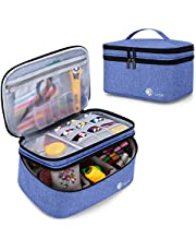 Luxja Sewing Accessories Organizer, Sewing Supplies Organizer for Needles, Scissors, Measuring Tape, Thread and Other Sewing Accessories