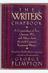 Writer's Chapbook Hardcover