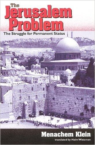 Book The Jerusalem Problem: The Struggle for Permanent Status